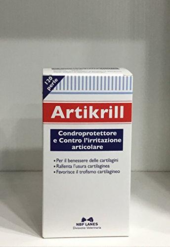 ARTIKRILL 120 PERLE antinfiammatorio rigenera cartilagine per cani