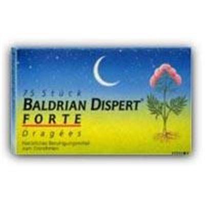 Baldrian Dispert Forte Dragees-75 Stück (75 ST)