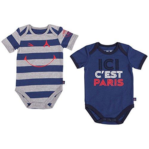 Paris Saint Germain Body PSG, officiële collectie, babymaat, voor jongens, 2 stuks