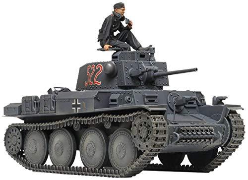 Tamiya 300035369 35369 Pz.Kpfw. 38(T) Ausf E/F Tank 1:35 - Kit modello in plastica