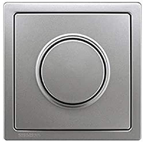 Bjc delta style color - Placa regulador luminoso boton deltastyle platino metalizado