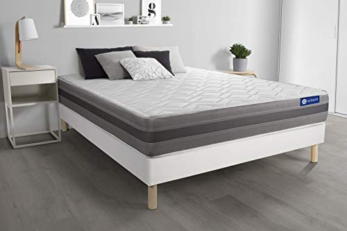 Bed base with Actilatex relax mattress 180x220cm
