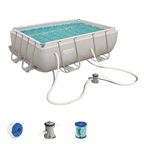 Bestway 56629 - Piscina Desmontable Tubular Power Steel 282x