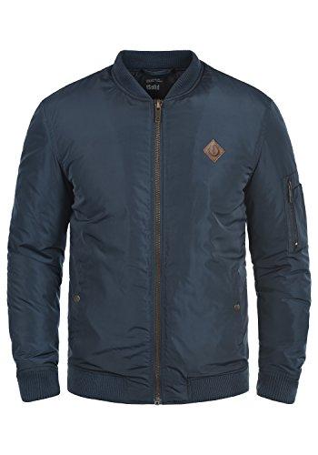 !Solid Park Herren Bomberjacke Übergangsjacke Jacke Mit Stehkragen, Größe:L, Farbe:Insignia Blue (1991)