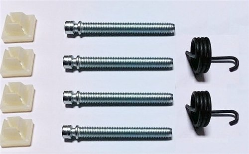 1967-1973 Headlight Adjuster Parts Set: Screws, Nuts, and Springs