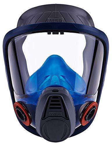 Vollmaske MSAAdvantage3000| Komfortable Gasschutzmaske| Advantage3221 Größe: Mittel, Bajonett-Filteranschluss| EN136