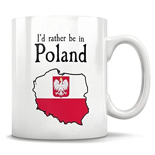 N\A MugPoland Geschenk, Polen Becher, Polen Karte, Warschau Polen, polnische Wurzeln, Polen Flagge, ideale Politur, polnische Amerikaner