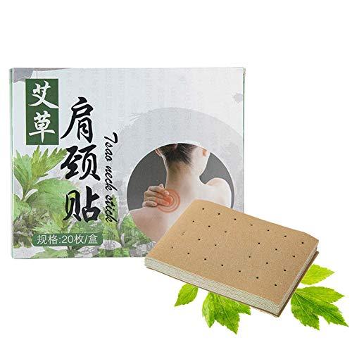 Moxibustion-Sticker, selbstwärmende Schmerzlinderung, chinesisches traditionelles AiJiu, natürlicher Wermut, Aufkleber für Körperakupunktur, Nacken Schulter Rücken Beine Arme Taille Knie Schmerzen