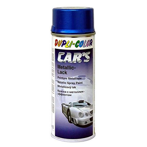 Dupli-Color 706837 Car's-Spray, Metallic, 400 ml, Cars Azurblau