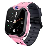 Smart Watches for Kids,HD Touch Screen Sports Smartwatch Phone with Call Camera Games Recorder Alarm Music Player for Children Teen Students (Pink)