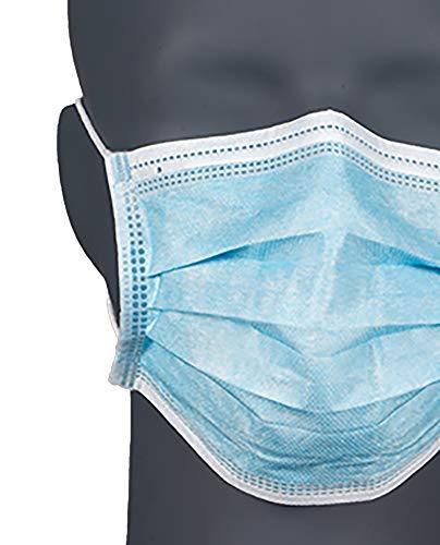OFFTEX CARE Erwachsene Mund-Nasen-Schutzmaske 50 STK, Aqua, L