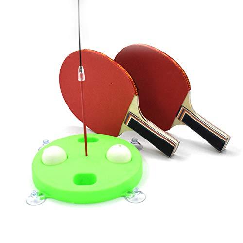 Fantastic Deal! HUQUAN Elastic Flexible Shaft Table Tennis Training Device PingPong Trainer Self-Pra...