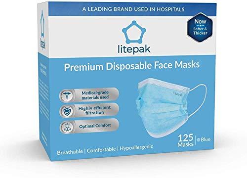 Litepak Premium Disposable Face Mask