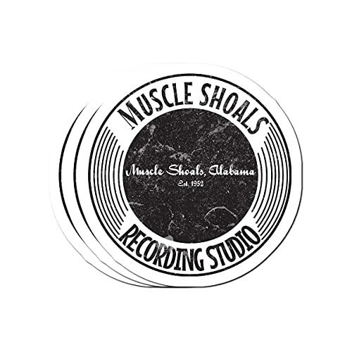 Big Lens store Muscle Shoals Recording Studio Stickers (3 Pcs/Pack)