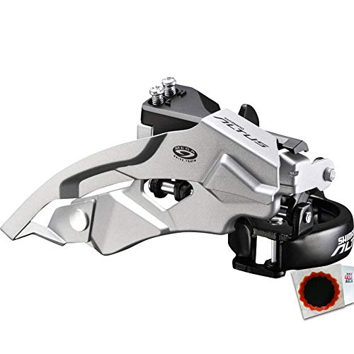 Shimano Umwerfer Altus FD-M370 3x9 TOP Swing 34,9mm 63-66Grad 44-48Z schwarz