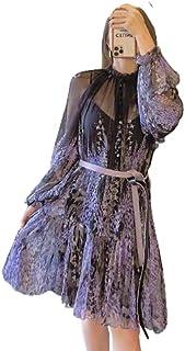 ملابس للنساء، بالجملة، أزياء، ملابس، أنيقة، فساتين كاجوال بنمط مورد، شبكي، دانتيل، فساتين صيفية رقيقة، فستان، كاجوال، نسائ...