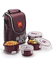 Cello Max Fresh Click Polypropylene Lunch Box Set