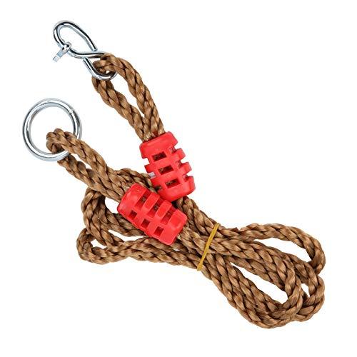 TANKE Cuerda de conexión ajustable del PE que sube la cuerda que sube el rodamiento de la conexión del anillo de la suspensión alarga 180cm/70.9in