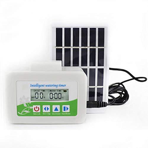 Automatische zonne-watertimer - Intelligent druppelirrigatiesysteem voor Pot/Planten/Bloem/Groenten, Sprinkler Self Watering System