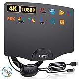 TGVi's TV Antenna Indoor, Amplified HDTV Digital Antenna for HDTV Up to 120...