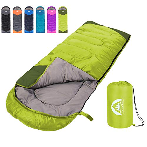 Sleeping Bag 3 Season Warm & Cool Weather - Summer,...