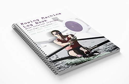 Not A harvest Frog Diario de máquina de remo con entrenamiento a intervalos: Mantenga un registro de todos sus entrenamientos en máquinas de remo de agua o interior.