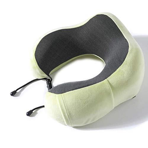 WXDC Espuma de memoria de avión de apoyo de cuello almohadas reposacabezas cojín de viaje atención médica inserción almohadas envío de la gota