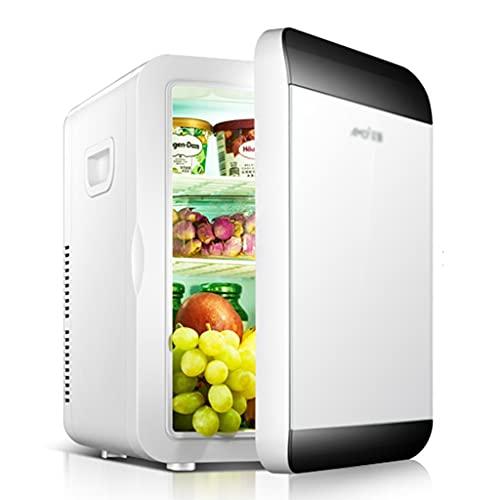 Frigoríficos mini Mini Refrigeradores Refrigeradores Domésticos Pequeños Refrigeradores De Refrigeración para Automóviles Refrigeración De Leche Materna (Color : Blanco, Size : 30 * 24 * 35cm)