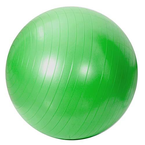 JUODVMP Yoga,Pilates,Robust,rutschfest,hypoallergisch Gymnastikball,Schwangerschaft Yoga Ball- 45 cm - 55 cm - 65 cm - 75 cm - 85 cm,Green