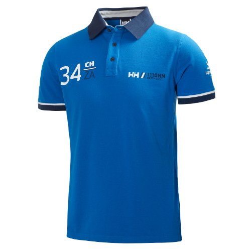Navy FR : L Helly Hansen Shore Homme Polo Taille Fabricant : L