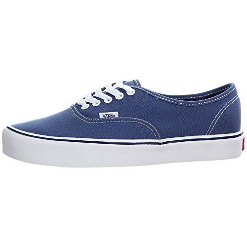 Vans Mens Authentic Lite C Canvas Low Top Skateboarding Shoes Navy 7 Medium (D)