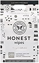 The Honest Company Designer Baby Wipes - 288 Count | Pattern Play | Over 99 Percent Water | Pure & Gentle | Plant-Based | Fragrance Free | Extra Thick & Durable Wet Wipes