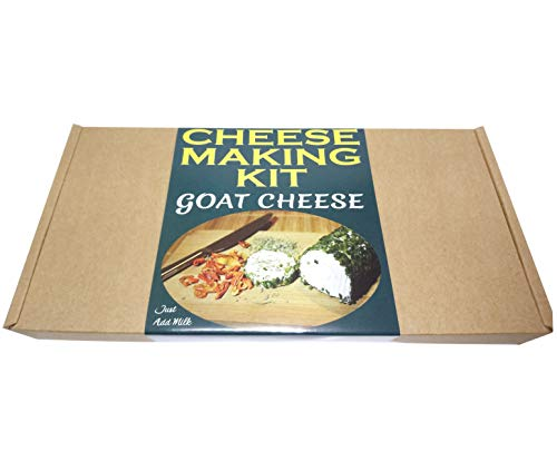 Cheese Making KIT = GOAT CHEESE = Great Gift Present = Full instruction Included Just Add Milk