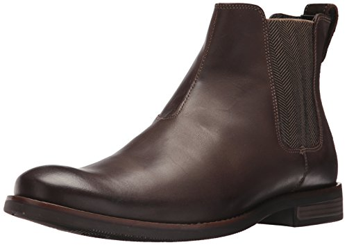 Rockport Men's Wynstin Chelsea Chelsea Boot, Dark Bitter Chocolate, 9.5 W US