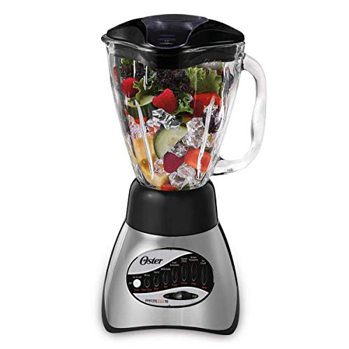 Oster 6812-001 Core 16-Speed Blender with Glass Jar, Black