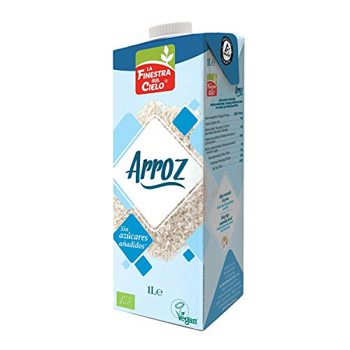 LA FINESTRA SUL CIELO Bebida de arroz BIO - 1l (cja 6 uds -
