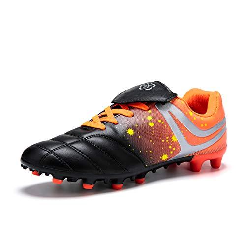 DoGeek Scarpe da Calcio Unisex-Bambini Adulti Football Calcio Stivali (Suggerire di Scegliere Una Taglia più Grande)