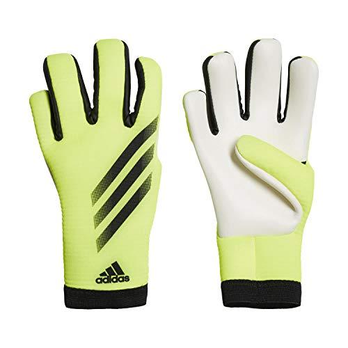 Adidas X 20 Training - Guanti da portiere da bambino, colore: giallo solare/nero/nero, 6