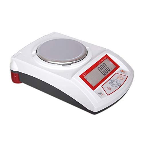 YZSHOUSE Balance Electrónico 0.01g Balanzas Digitales De Cocina, Analítico Electrónico Balanza con Pantalla LCD, Escala De Joyería (Size : 200g/0.01g)