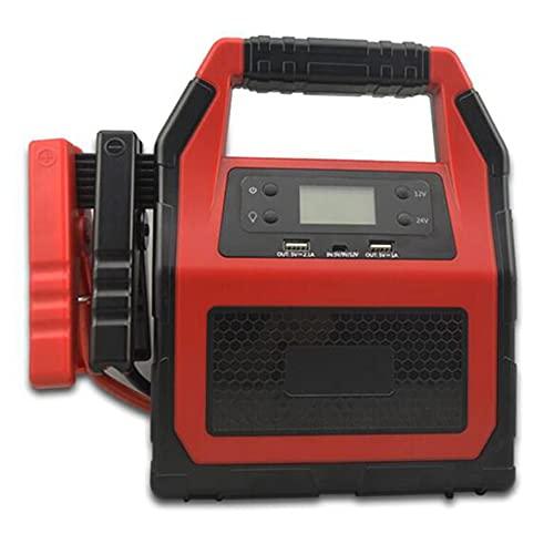 Z&HX Terrinador de Salto portátil de 12V 24V, 1500-2000AMP Motor DE DISTRADOR PEAPORTE Cargador DE BATERÍA DE BATERÍA para Todos LOS Autos Cargador de Banco de energía de Emergencia