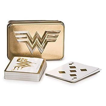 Paladone Wonder Woman Playing Cards WW 1984 Gold Logo Standard Deck DC Comics Licensed