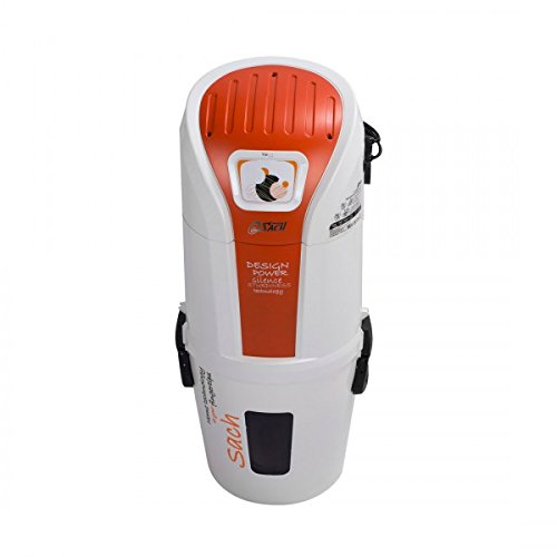 Central Aspiradora/empotrable aspirador/aspiradora sach Vac Dynamic 2.4–adecuado para salón o superficies de hasta 900m²