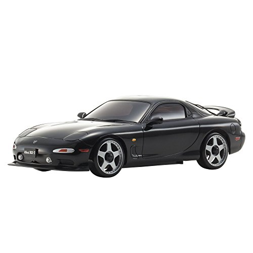 Kyosho Mini-Z AWD MAZDA RX-7 FD3S Mini RC Drift Car Toy, Black