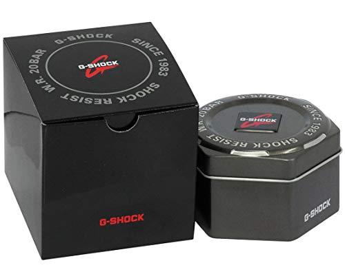 Casio Orologio Analogico-Digitale Quarzo Uomo con Cinturino in Resina GA-800-1AER