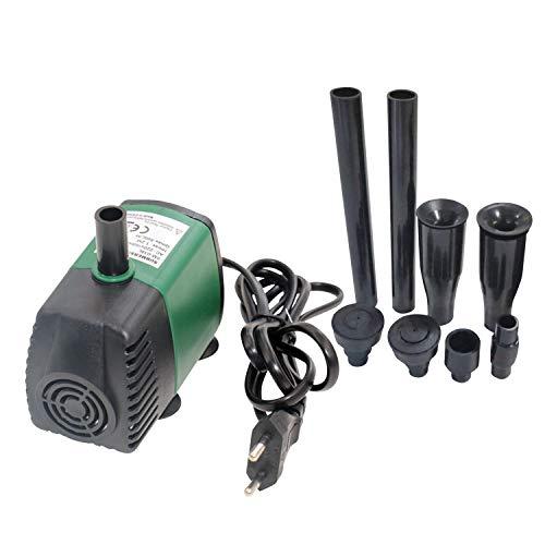 Decdeal 7W 600L/H Bomba de Agua Sumergible Mini Bomba de