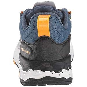 New Balance Men's Fresh Foam Hierro V5 Trail Running Shoe, Light Aluminum/Chromatic Yellow, 13 M US