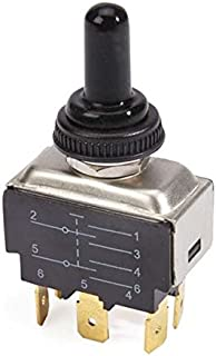 Master Equipment  Replacement Dryer Switches for Blue Force Dryers, Black