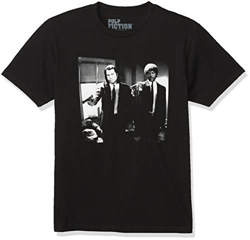 Pulp Fiction Vincent and Jules - Camiseta para hombre - Negro - Large