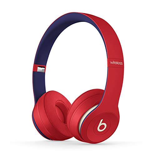 Beats Solo3 Wireless - Auriculares supraaurales - Chip Apple W1, Bluetooth de Clase 1, 40 horas de sonido ininterrumpido - Rojo Club
