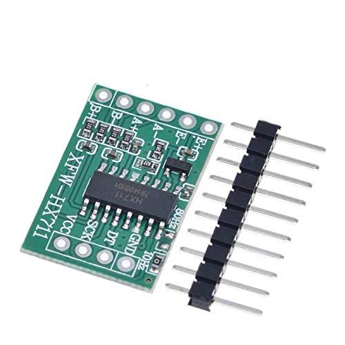 TSAUTOP Newest Für Ard-uino Dual Channel HX711 Wägedrucksensor 24-Bit-Präzision A/D-Modul DIY Elektronische Maßstab-Sensoren